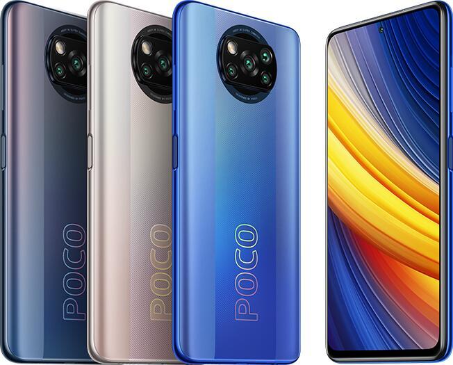 "Xiaomi Poco X3 Pro - 6.67"" FHD+ Dual-SIM Smartphone (8GB/256GB, 120Hz, SD860, USB-C, NFC, 5160mAh)"