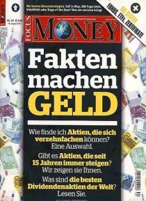 FOCUS Money Abo (51 Ausgaben) für 234,70 € mit 155 € BestChoice-Gutschein oder 160 Zalando-Gutschein (Kein Werber nötig)