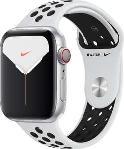 Apple Watch Nike Series 5 (LTE) 44mm Aluminium silber mit Sportarmband