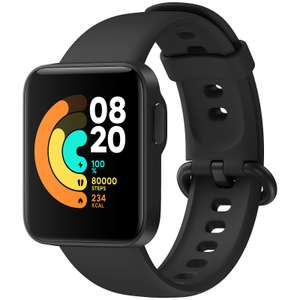 "Xiaomi Mi Watch Lite: Smartwatch - 28€ als Maingau Kunde (1.4"" TFT Display, GPS Built-In, Herzfrequenzmessung, 9 Tage Akku, 50m Wasserdicht)"