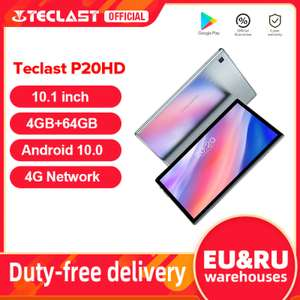 "Teclast P20HD 10.1 ""Android 10 Tablet 1920x120"