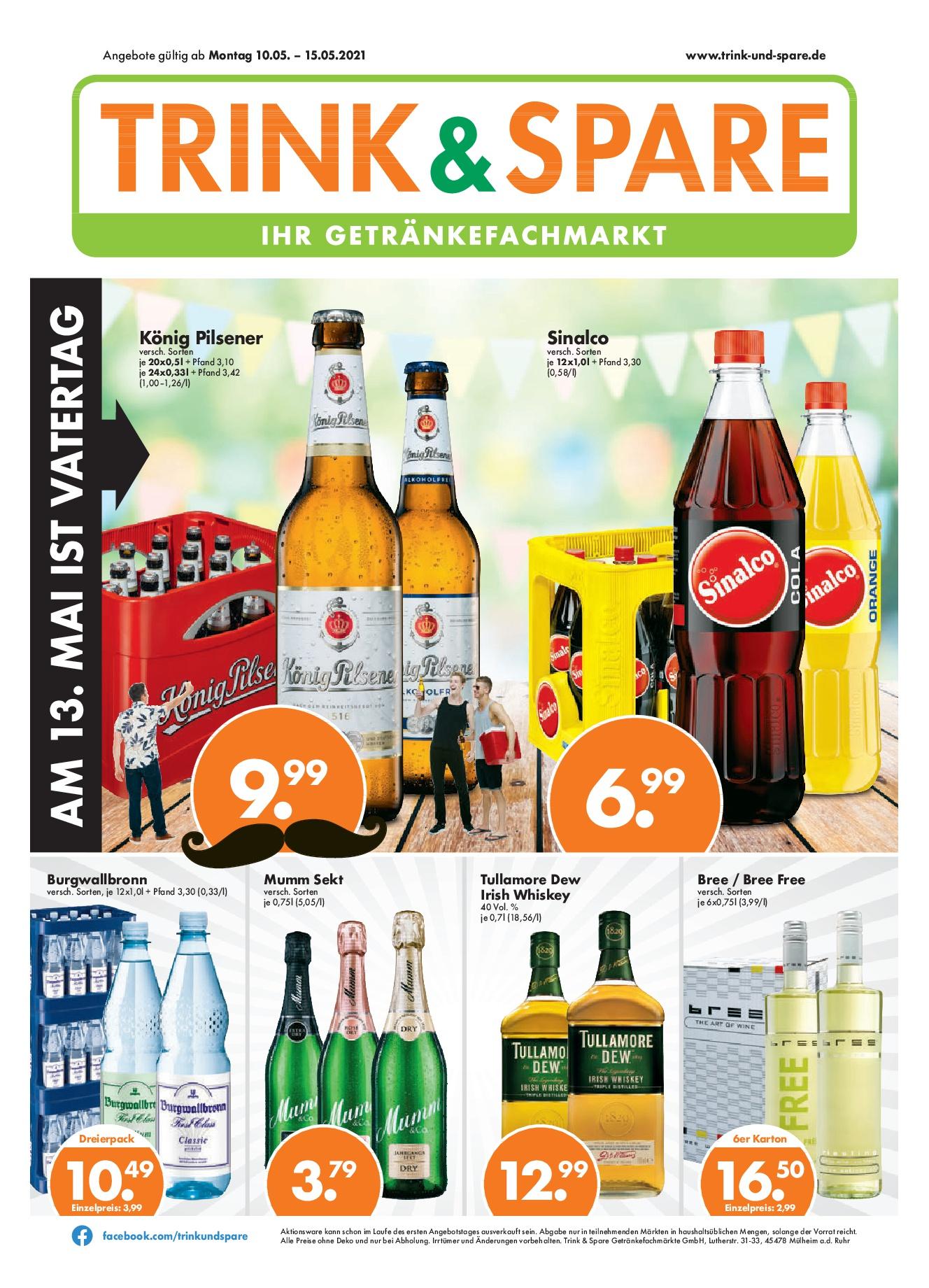 Trink & Spare Getränkefachmarkt - Perfect Draft Fässer ab 12,99 € zzgl. 5 € Pfand