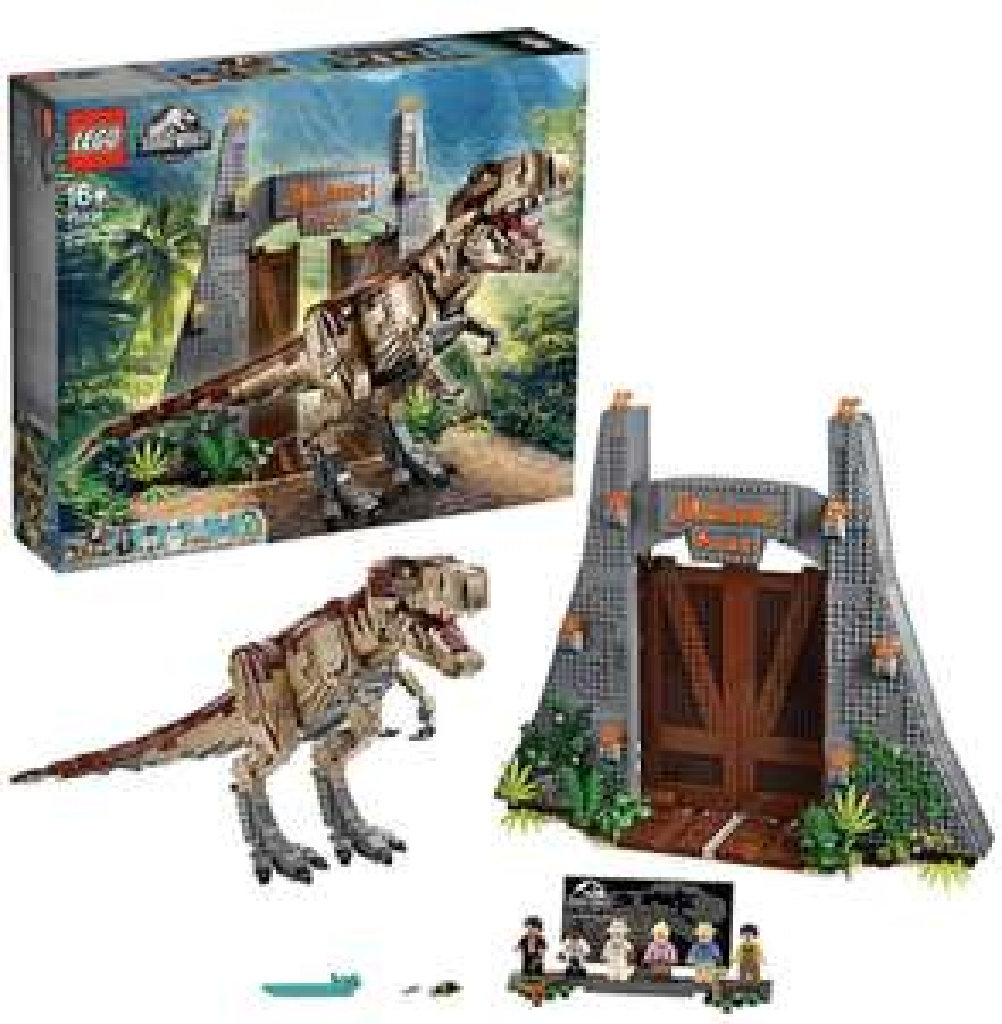myToys Newsletter-Deal: 15% Extra-Rabatt auf LEGO - z.B. Jurassic Park: T. Rex' Verwüstung (75936) - Bestpreis