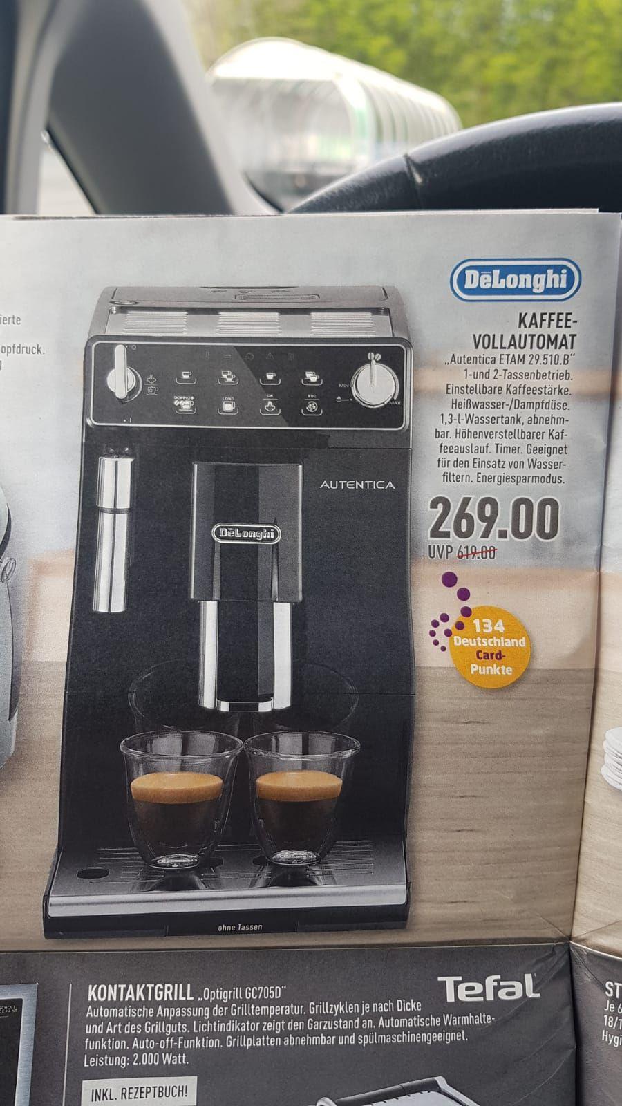Delonghi Kaffevollautomat Autentica ETAM 29.510b Lokal