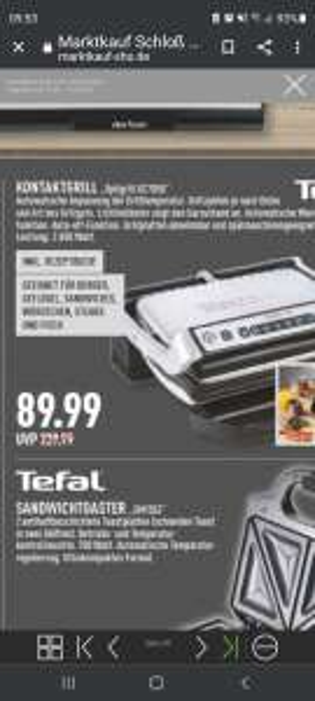 Tefal Optigrill 705D