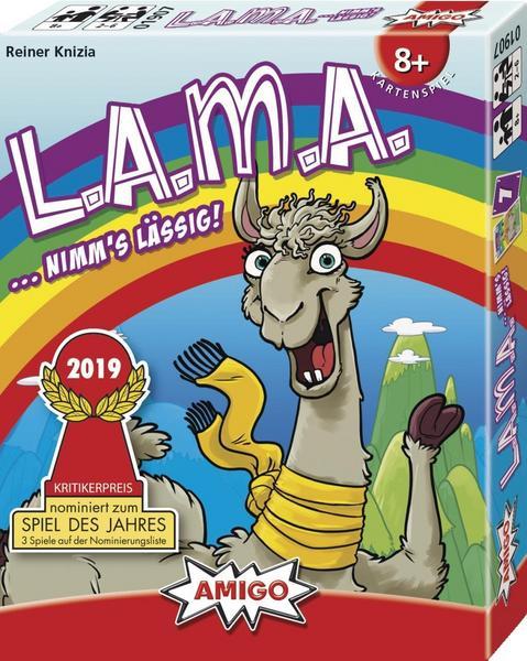 Lama Kartenspiel (nominiert für Spiel d. Jahres 2019) [Thalia KultClub]