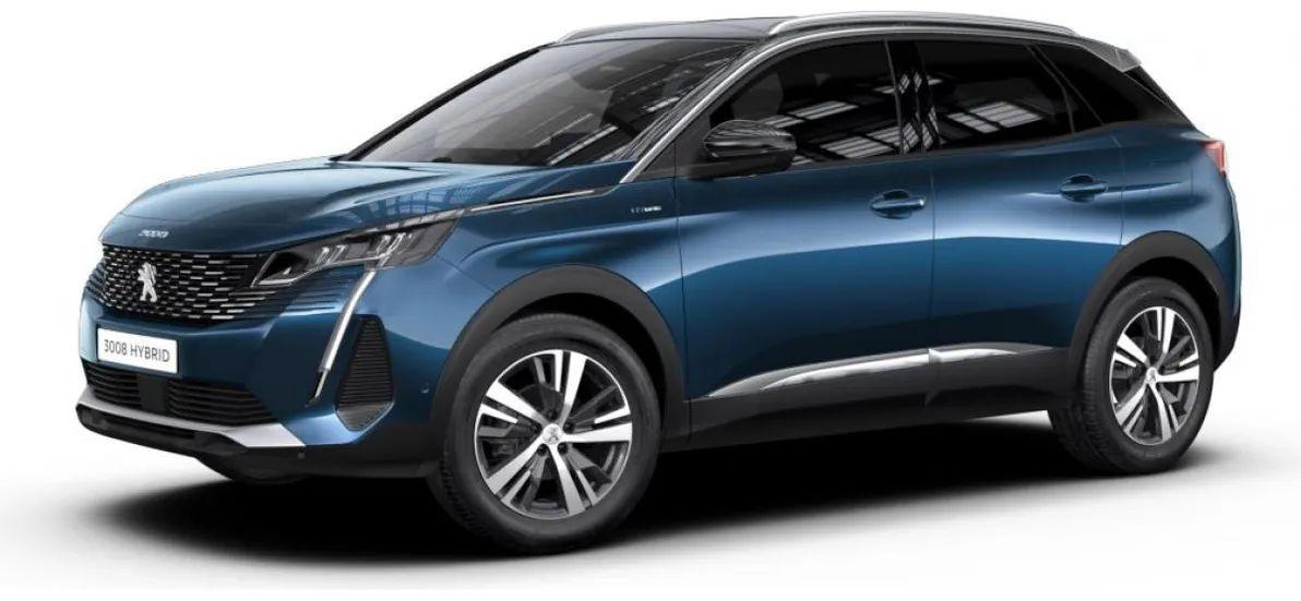 Privatleasing: Peugeot 3008 (Bafa) / 224Ps (konfigurierbar) für 89€ (eff 130€) monatlich - LF: 0,19