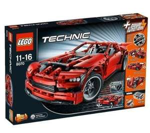Lego Technic Super Car (8070) @ Amazon Warehousedeals