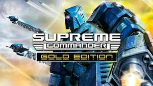 Supreme Commander - Gold Edition für 2,99€ [GOG]