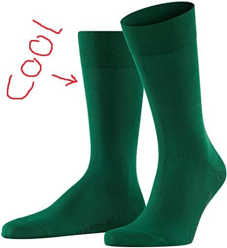 FALKE Cool Herren 24/7 Socken Golf (13230) Gr. 39-46