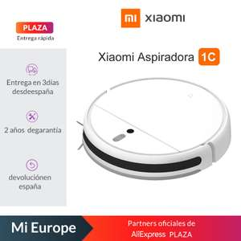 Xiaomi Mijia 1C: Saugroboter (2500Pa Saugkraft, 200ml Wassertank, Quad Core, VSLAM) für 147,59€