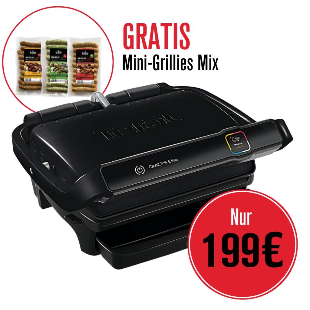 TEFAL OPTIGRILL ELITE GC7508 Neu für 179,10€