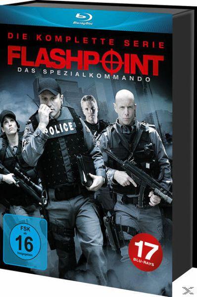 Flashpoint – Das Spezialkommando – Die komplette Serie [Blu-ray] 17x Blu-ray Box