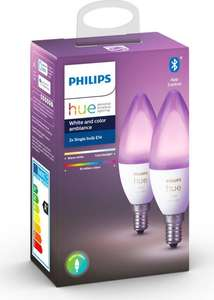 Philips Hue White&Color Ambiance E14 Doppelpack