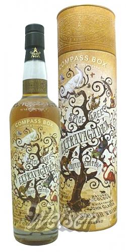 Compass Box Spice Tree Extravaganza Whisky 0,7l 46% für 105 getraenkewelt-weiser incl.Versand