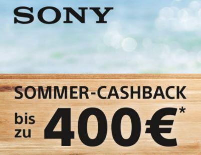 Sony Foto summer cashback (bis zu 400€)