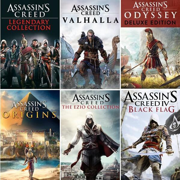 [Xbox BR store] Assassin's Creed Origins für 6,27€ - The Ezio Collection für 5,65€ - Odyssey Deluxe für 9,02€ & more AC games