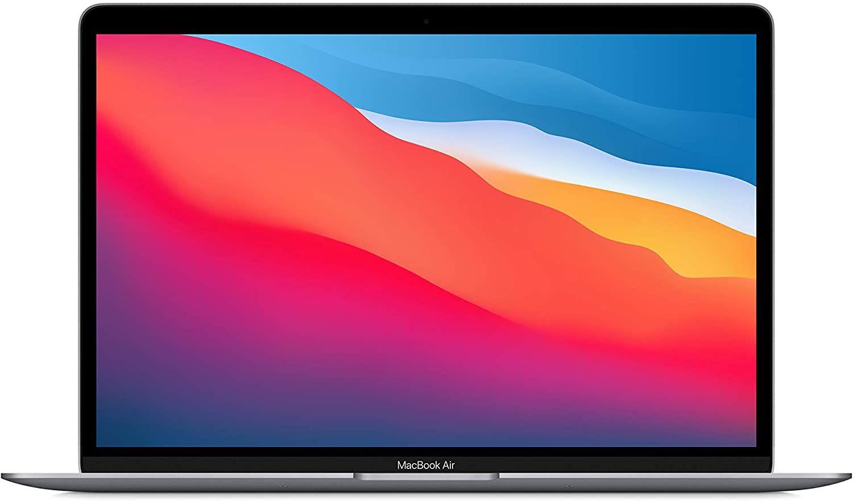 """Apple MacBook Air (November 2020) mit M1 Chip (13"""", 8 GB RAM, 256 GB SSD) Space Grau [ES-Layout]"""