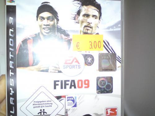 FIFA 09 (PS3) für 3€,Wasserkocher 1,7L Marke oK für 12€ bei MM in Köln Arcaden