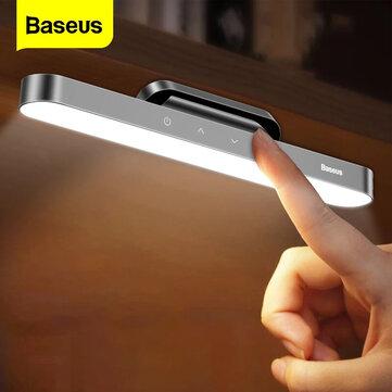 Baseus Charging Desk Lamp (4.5W LED, >100lm, 4000K, 1800mAh für 4-24h, USB-C, magnetische Halterung, 183g)