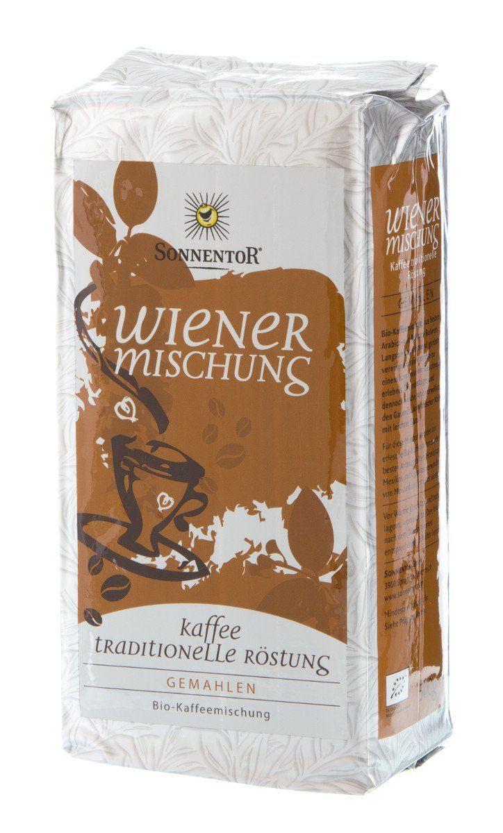 [Denns Biomarkt] SonnentorWiener Mischung Bio Kaffee, ganze Bohnen oder gemahlen, für nur 4,99€ je 500g