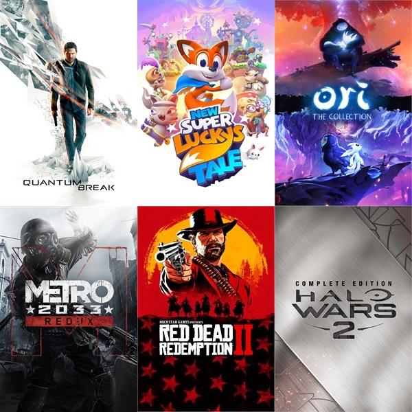 [Microsoft Island Xbox/PC Sale] Red Dead Redemption 2 (17€) Ori Collection (11€) Metro 2033 Redux (2€) ReCore (3€) Halo Wars 2 CE (15€) uvm.