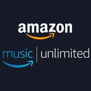 [VISA Kunden] 4 Monate Amazon Music Unlimited kostenlos (monatlich kündbar, für Neukunden)
