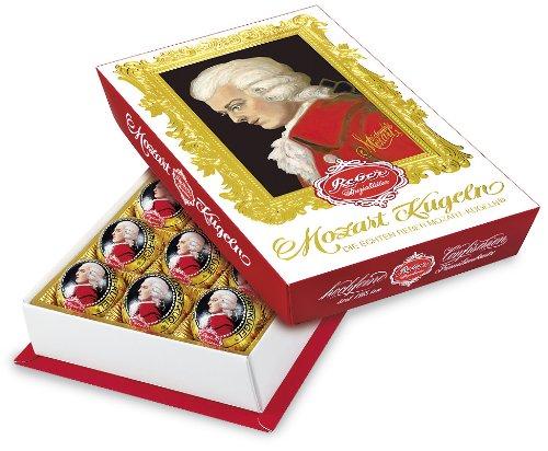 Amazon Prime: 15 Stück Mozartkugeln von Reber in ansprechender Schachtelverpackung