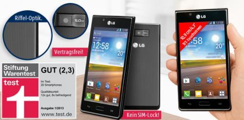 LG P 700 Optimus L7 ab 14.03. bei Aldi Süd