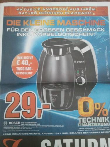 [LOKAL] Bosch Tassimo TAS2002 Saturn Bergisch-Gladbach