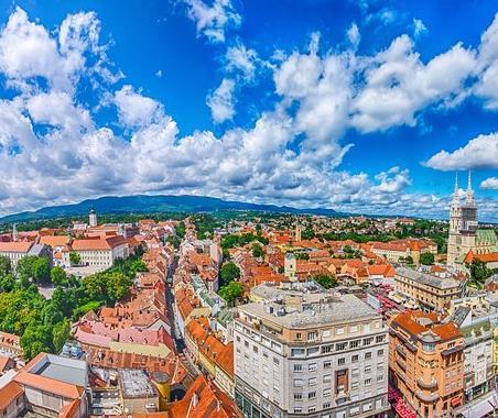Flüge: Zagreb / Kroatien (Sept-Okt) Hin- und Rückflug von Dortmund, Weeze, Hahn, Karlsruhe und Memmingen für 9€