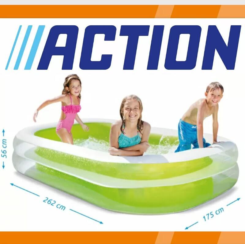 """Planschbecken"" INTEX Family Pool Swim-Center (262cm × 175cm × 56cm)"