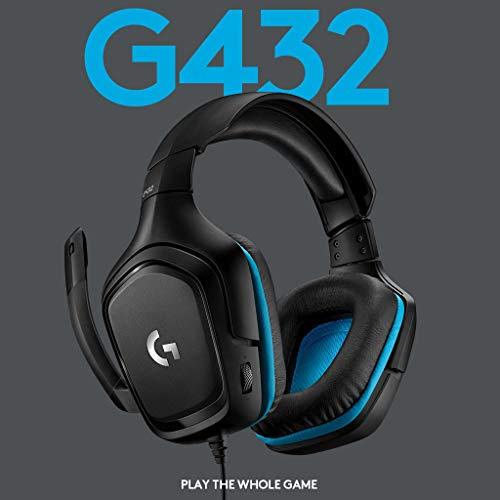 [Amazon/Prime] Logitech G432 Gaming-Kopfhörer