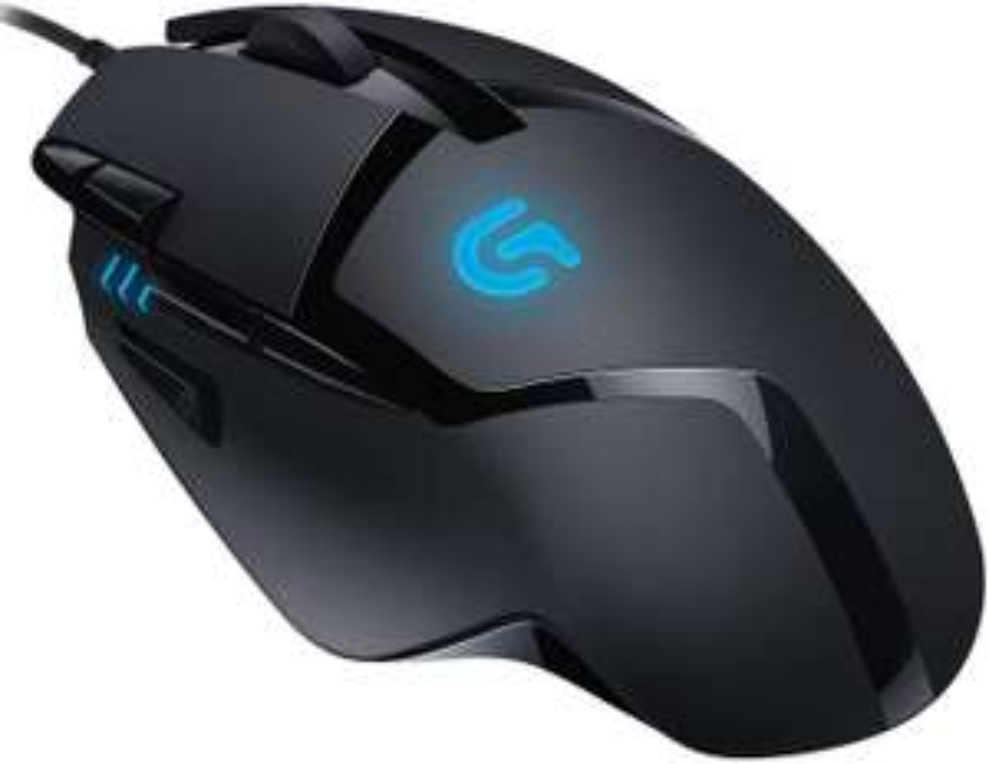 Logitech G402 Hyperion Fury Gaming-Maus (4.000 DPI, 8 programmierbare Tasten, DPI-Switch, kabelgebunden, Leichtgewicht, für PC & Mac)