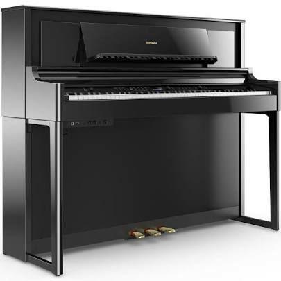Roland LX706 PE Digitalpiano in Schwarz Hochglanz, 88 Tasten, 324 Klangfarben, Maße: 1383 x 493 x 1118 mm, 98 kg [justmusic.de]