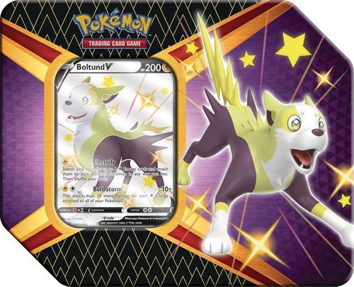 Pokémon Shining Fates Tin - Boltund