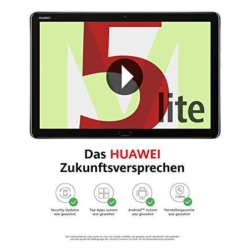 HUAWEI MediaPad M5 lite WiFi (10,1 Zoll), Full HD, Kirin 659, 3 GB RAM, 32 GB interner Speicher, grau