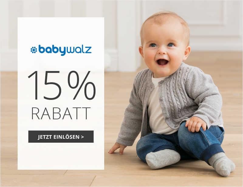 baby-walz Gutscheine für den Onlineshop (5%, 10%, 15%, kostenloser Versand)