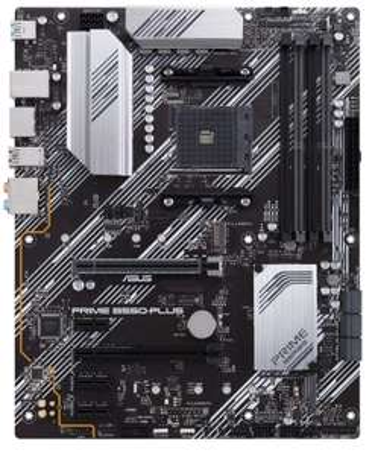 ASUS Prime B550-Plus (ATX, Ryzen, PCIe 4.0, 2x M-2, 1Gbit/s-Ethernet, SATA 6Gbit/s, USB 3.2 Gen 2 Typ-A/C)