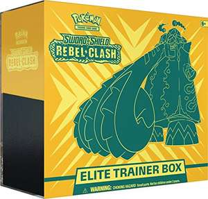 Pokemon Clash der Rebellen Elite Trainer Box / Amazon UK