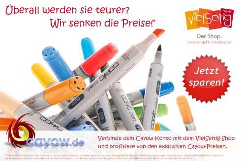 COPIC Spar-Aktion bei Cayow und Projekt VielSeitig