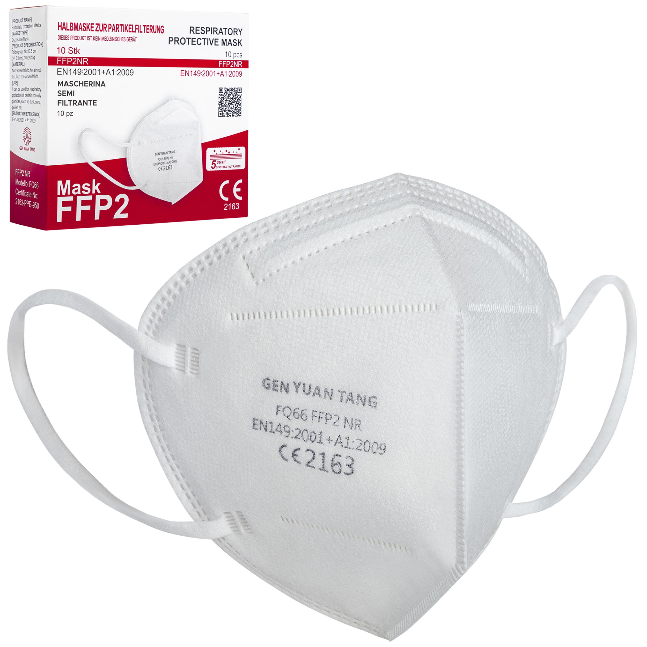 10 FFP2 Masken für 3€ inkl. Versand bei Kaufland