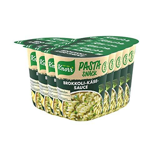 Amazon Prime: 52 Cent je Becher mit Knorr Aktion ( 2 € zurück), Knorr Pasta Snack Brokkoli -Käse, 8 Becher mit je 62 Gramm, Stück 77,2Cent