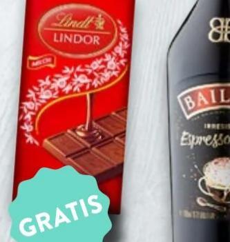 [Kaufland] Zu jeder Flasche Baileys (im Angebot) zusätzlich eine Tafel Lindor-Schokolade gratis dazu