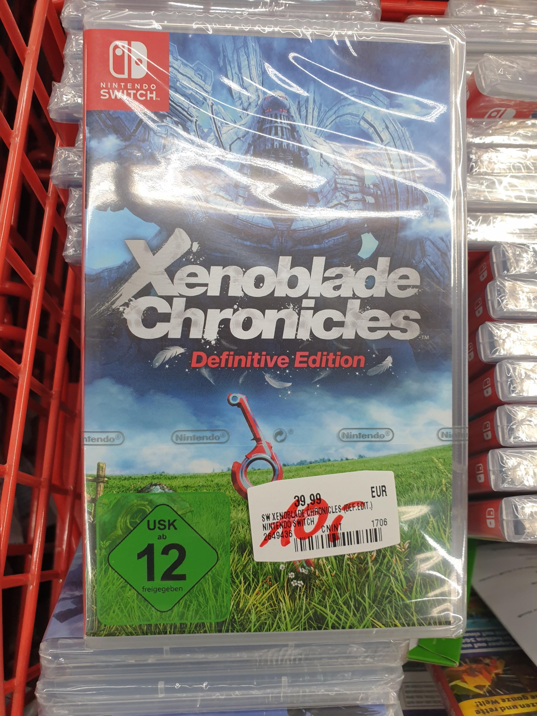 Lokal Mediamarkt München Pasing: Xenoblade Chronicles: Definitive Edition (Nintendo Switch)