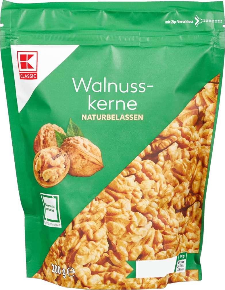 K-Classic Walnusskerne 200g für 1,69€ (Regional für 1,29€) [Kaufland]
