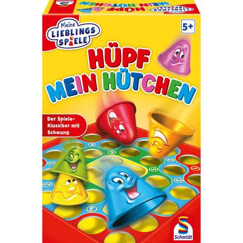 Schmidt Spiele Hüpf mein Hütchen (Geschicklichkeitsspiel) oder Theo Teichhüpfer (Lernspiel) Abholung je 5€ oder + 5,95€ Versand