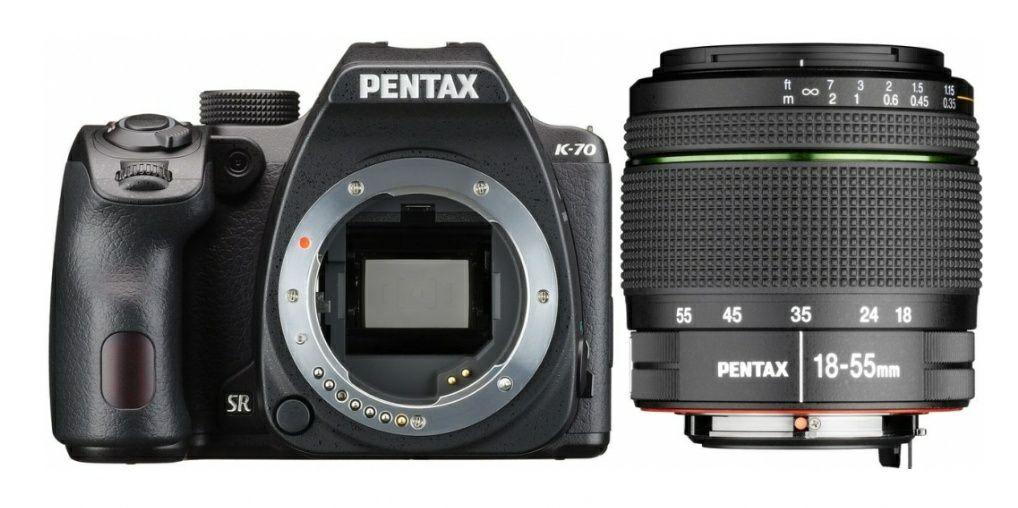Pentax K-70 + 18-55mm WR