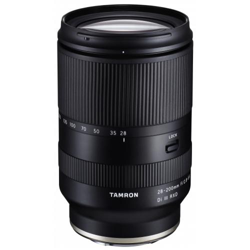 Tamron 28-200mm F2.8-5.6 Di III RXD Objektiv für Sony E-Mount