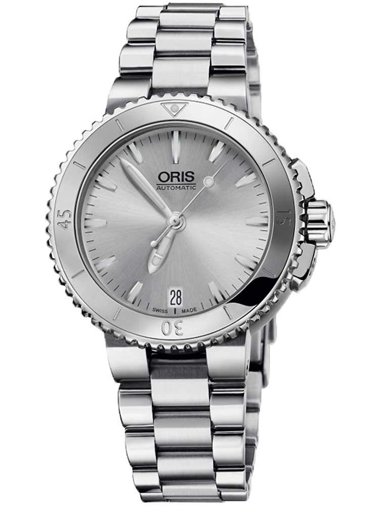 [Timeshop24] Oris Aquis Damen / Unisex 36mm Automatik Uhr, 30bar, Saphir